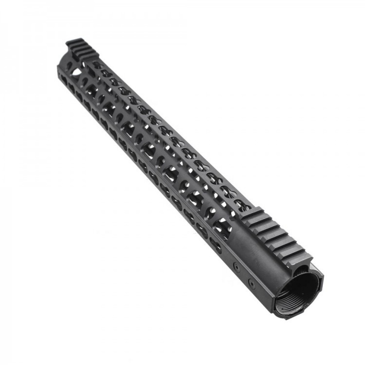 Ar10 Super Slim Light Keymod Free Float Handguard W Steel
