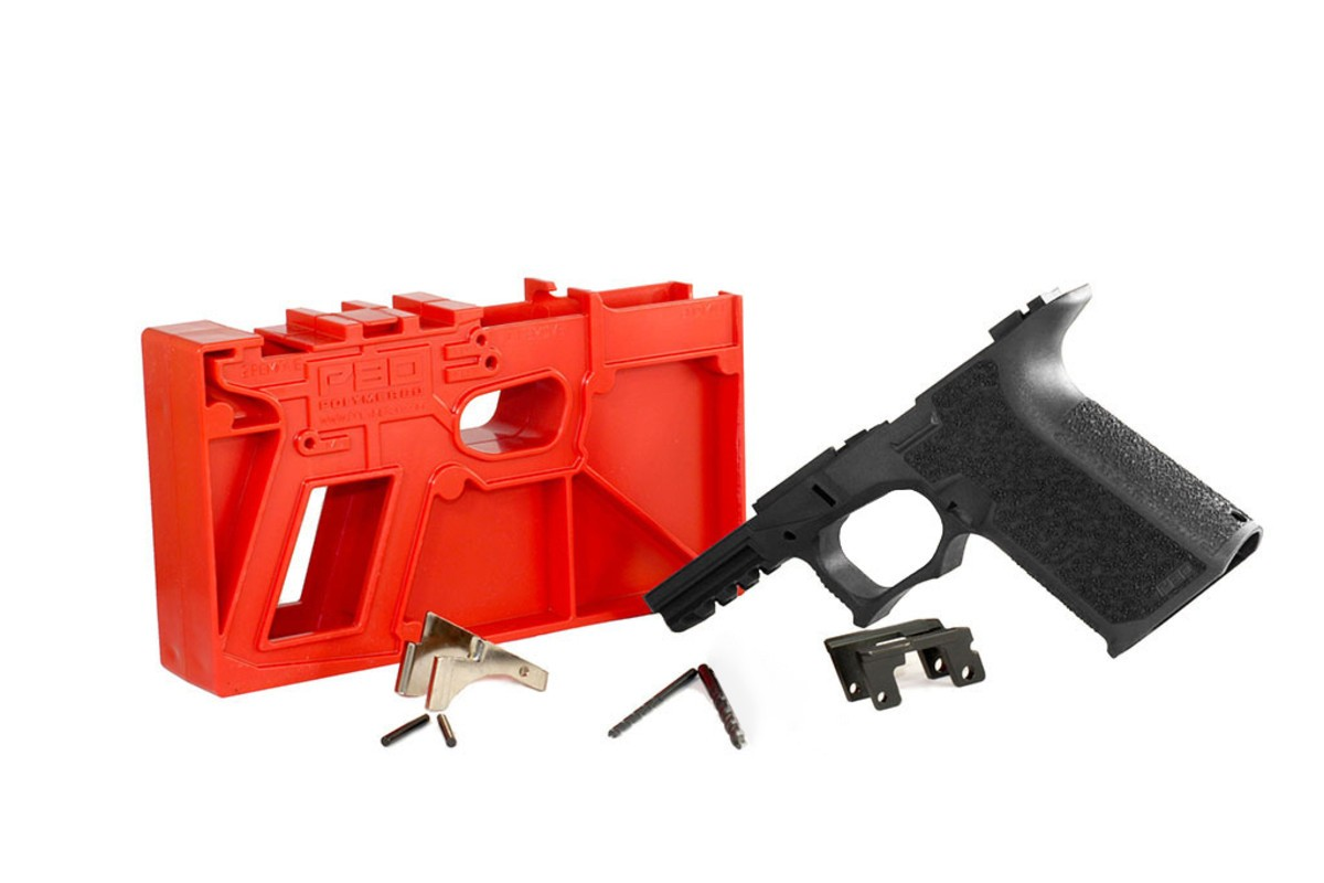 POLY80 GLOCK 19/23 80% FRAME KIT