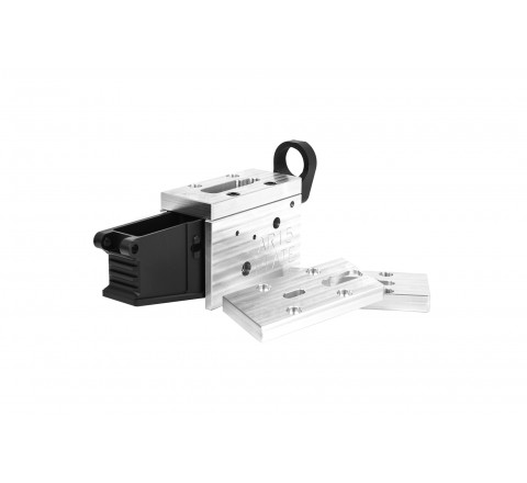 M1-80% AR15 with M1-80% Universal Milling Jig