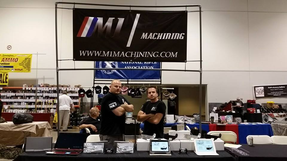 M1 Machining Owners James and Mike