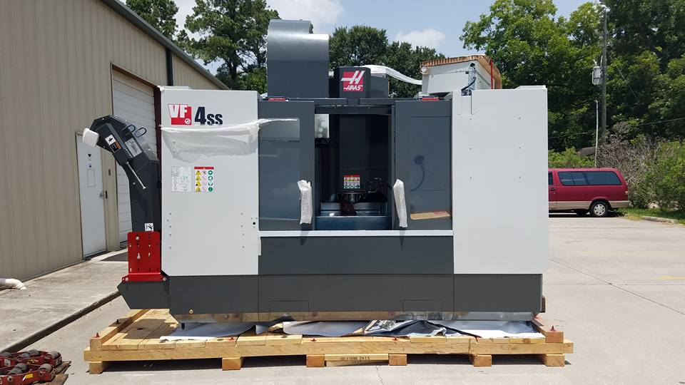 M1 Machining's Haas VF4 SS