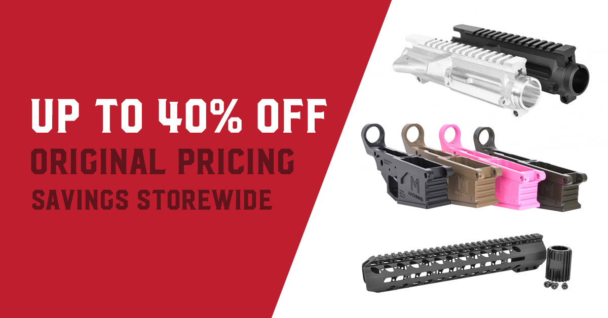 AR10 & AR15 Lower & Upper Receivers Sale