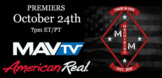 M1 Machining on Mavtv with Titan American Built